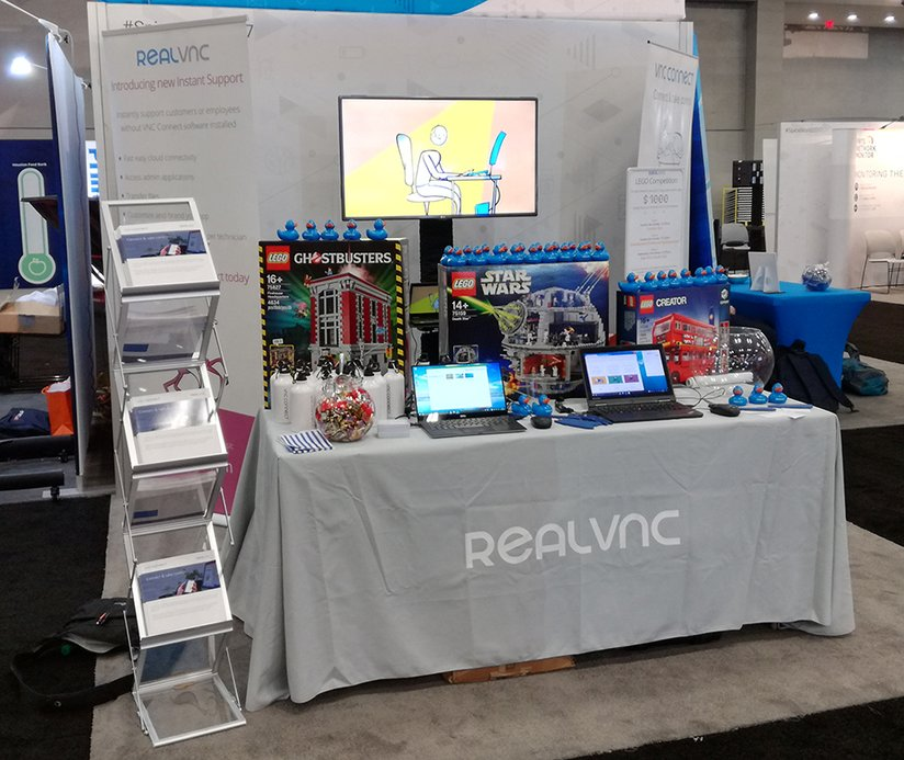 RealVNC at SpiceWorld 2017