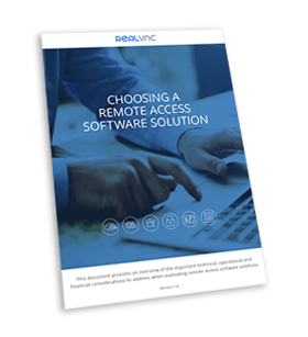 remote access software solution