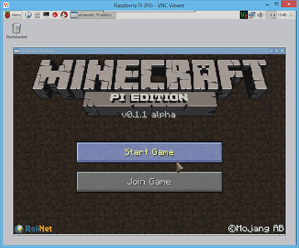 Raspberry Pi - Minecraft